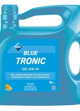 Моторное масло Aral BlueTronic 10W-40 (4 л.)