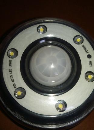 LED светильник ночник датчик движения