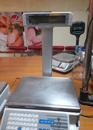 Весы торговые DIGI SM-300 с термопечатью