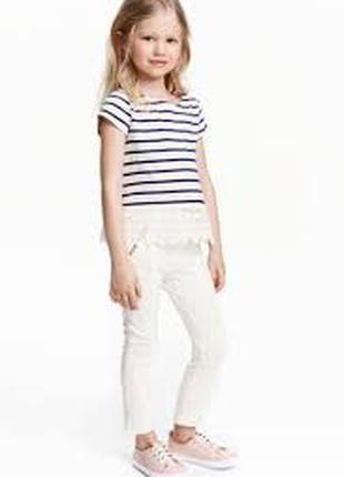 Новые штаны треггинсы девочке 3 - 4 года h&m