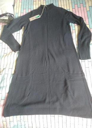 Новое  шерстяное платье Бенеттон Benetton