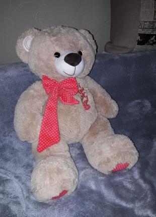 Музыкальный плюшевый медведь, мягкая игрушка