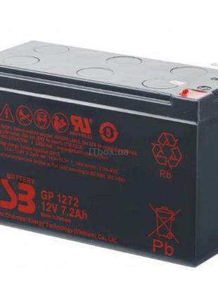 Акумуляторна батарея CSB 12V 7.2Ah (GP1272F2)