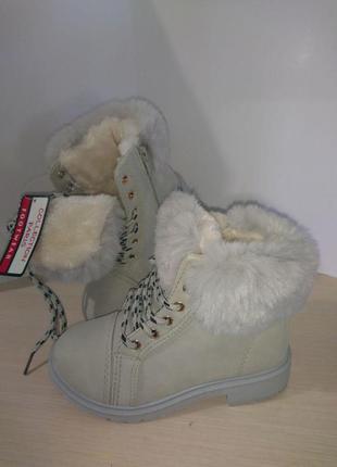 Ботинки зимние для девочки. размеры 30, 31, 32.