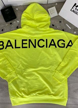 Sale - 45%Брендовые Худи Balenciaga Оригинальные бирки ,Qr-Code п