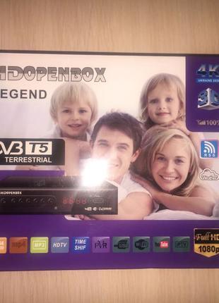 Цифровой тюнер Т2 T2 HDOPENBOX legend DVB
