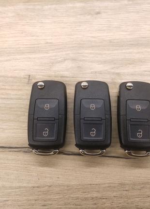 Корпус выкидного ключа 2 кнопки для Volkswagen, Skoda, Audi