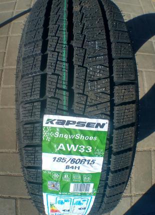 Зимние шины 185/60R15 84H Kapsen AW33
