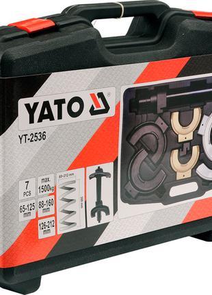 Стяжка для снятия пружин Макферсона со сменными полукольцами Yato