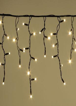Наружная LED гирлянда Бахрома 10м теплый белый, 200 Ламп 8 реж...