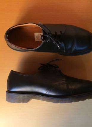 dr. martens 1461 pw made in England оригинал туфли
