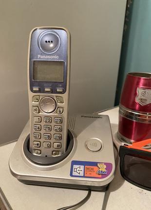 Телефон домашний panasonic kx-tg7207ua