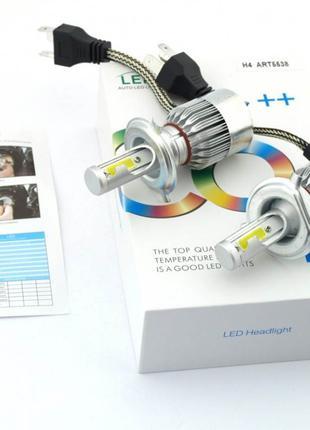 Комплект автомобильных LED ламп C6 H4 - Светодиодные лампы 5538