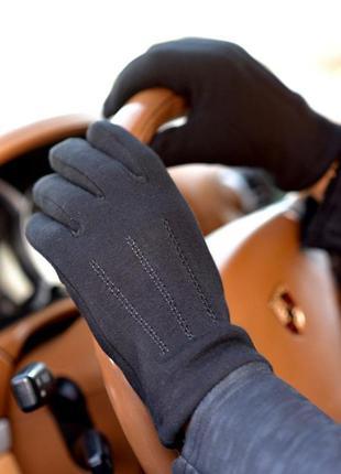 Чоловічі утеплені перчатки