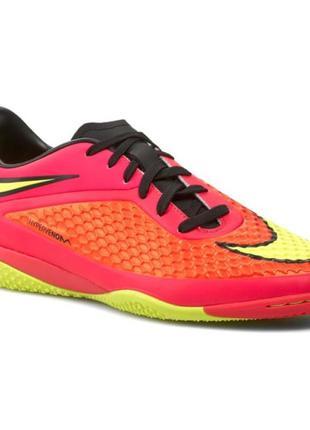 Футзалки nike hypervenom phelon ic 599849-690 / футбольная обувь