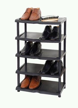 Этажерка пластиковая для обуви