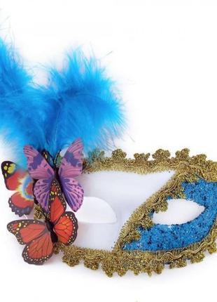 Роскошная карнавальная венецианская маска