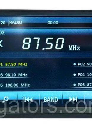Магнитола Pioneer 7018G GPS + AV-In + Bluetooth +Переходная рамка
