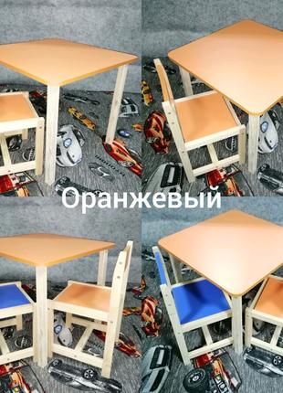 Комплекты детские столики и стульчики. Стол и стул. Стол и 2 стуа