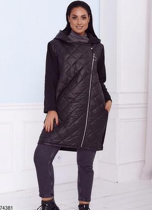 Тёплая куртка большие размеры
