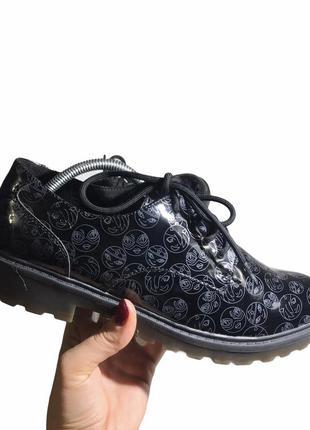 Туфли на шнурках броги оксфорды geox, 39.5 40 р