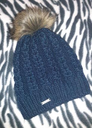 Женская шапка зимняя с подкладкой