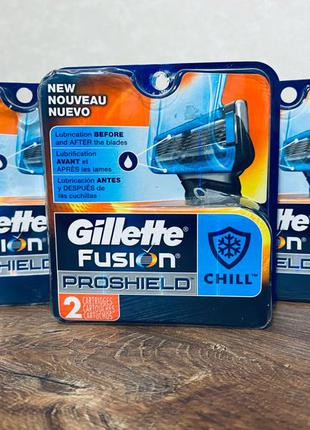 Леза ( катриджі ) Gillette Fusion5 ProShield Chill Cartridges 2 ш