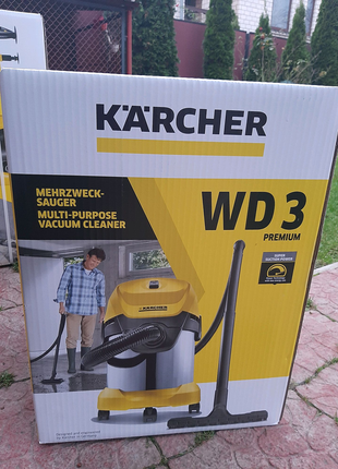 Пилосос Karcher WD3 premium