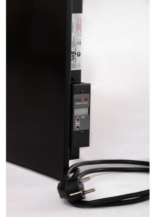 Керамический обогреватель с усиленной конвекцией черный