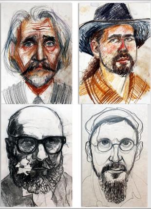 Нарисую портрет (карандаш, пастель)