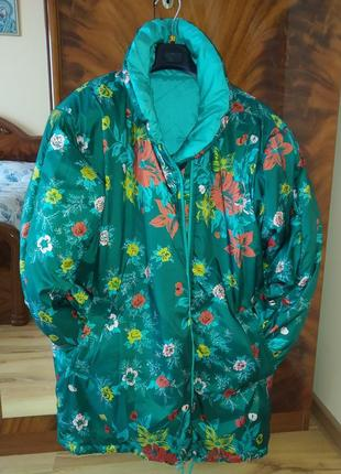 Курточка тёплая двухсторонняя