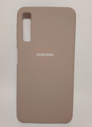 Задня накладка Samsung A750 Silicone Cover Lavender