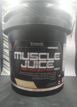Ultimate Nutrition Muscle Juice 5 kg 2.1 kg  гейнер Ультимейт