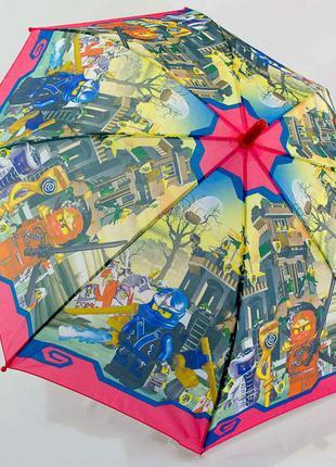 Зонт для мальчика 4-8 лет ниндзяго ninjago