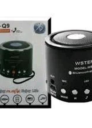 Портативная bluetooth колонка MP3 плеер WS-Q9