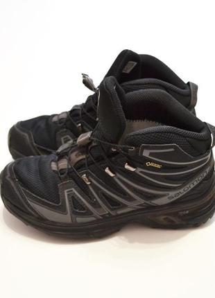 Трекінгові черевики salomon x-chase mid gtx
