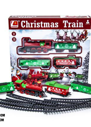 Рождественский Поезд 3006 поезд со светом и звуковыми эффектами.