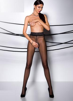 Эротические колготы черные Tiopen 001 Passion 20 den