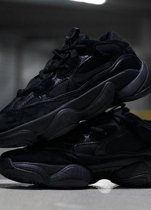 Кроссовки adidas Yeezy 500 черные