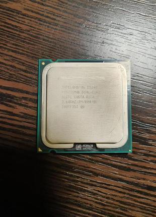 Intel pentium dual-core E5300 2,60GHZ/2M/800 (безкоштовна дост...