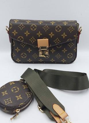 Женская  сумка Louis Vuitton Metis Луи Виттон