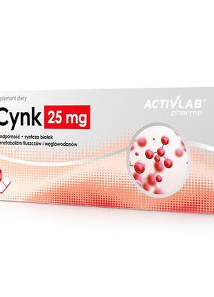 Цинк витамины вітаміни ACTIVLAB pharma Zinc