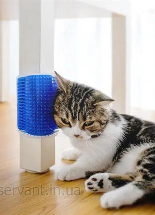 Чесалка для кошек угловая