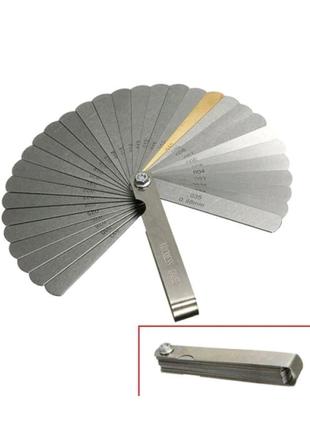 Набор щупов для измерения толщины зазоров, 32 шт