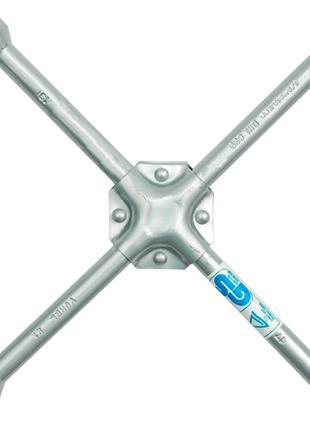 Ключ баллонный крестообразный 17х19х21х1/2 Vorel 57020