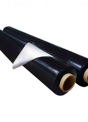 Пленка мульчирующая черно белая