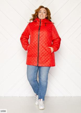 Женская куртка, большие размеры.