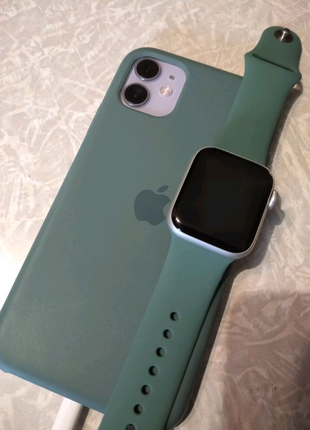 1:1 Silicone case Iphone apple watch