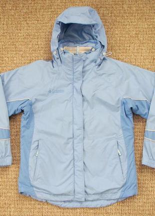 Columbia 3 in 1 женская утепленная куртка штормовка +флис ориг...