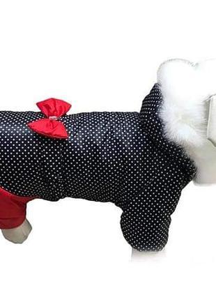 Одежда для собак зимний комбинезон для девочек
